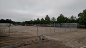 Parking lot Chain Link Fence
